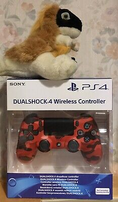 OFFICIAL GENUINE SONY CAMO CAMOUFLAGE RED DUALSHOCK 4 controller PS4 Playstation