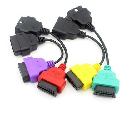GLLC A1+A2+A3 OBD MulitECUScan Diagnostic Cable Connectors ABS Airbag Power Steering Three Color