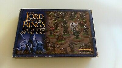 Games Workshop Lord of the Rings Heroes of the West Fellowship | BOXED COMPLETE