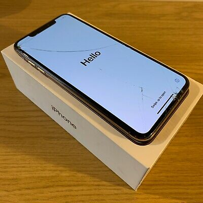 Apple iPhone XS Max - 512GB - Gold (Unlocked) - Smashed Front & Back