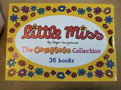 Little Miss Complete Collection Box Set 36 Books.RRP £90.  Never Used
