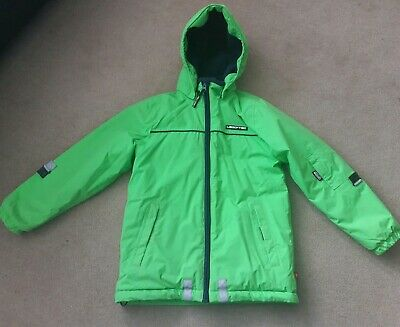 Lego Wear Tec Green Johannes 601 Children's Winter Ski Coat Jacket Age 8