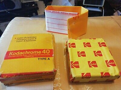 Vintage Super 8 Cartridge Kodachrome 40 Colour Movie Film Expired 1981~FOR LOMO