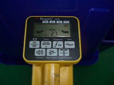 3M Dynatel 2250 Cable Pipe Fault Locator Receiver!!
