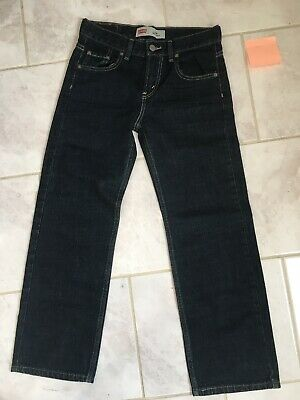 Levi Strauss 550 Relaxed Boys Age 10 - 12 Jeans W27 L25 Levi's
