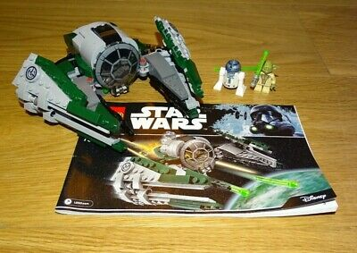 LEGO Star WarsYoda's Jedi Starfighter (75168) complete with instructions