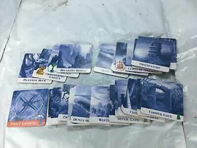 Forbidden Island Replacement Parts Pieces Cards