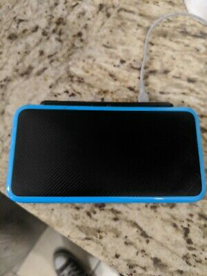 Nintendo 2DS XL Black & Turquoise Handheld Game System with Charger & Stylus/ SD