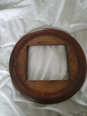 "Mahogany Surround For 12"" Fusee Clock Dial"