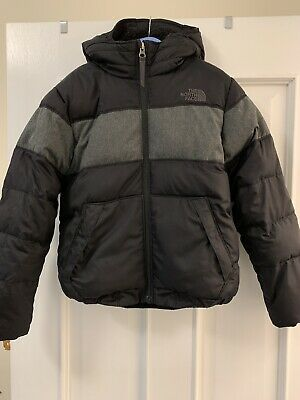 Boys The North Face Black Padded Puffer Jacket Size Small