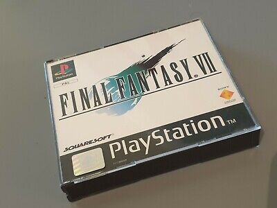 Final Fantasy VII 7 PS1 Playstation 1 Game Complete UK PAL - great Condition
