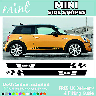 MINI SIDE Stripes Graphics Decals Stickers Cooper Countryman JCW S Paceman 006