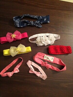 Baby Girl Headband Bundle 0-3-6-9-12 Months