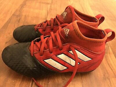 Adidas Rugby Football Boots Togs  Red Size 13 Junior Boy Girl
