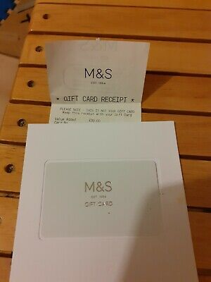 Marks and Spencer M&S £30 Gift Card / Voucher - NEW - UK