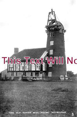 NF 1335 - Weybourne Old Tower Mill House, Windmill, Norfolk c1920