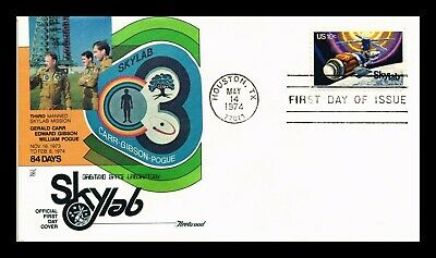 Dr Jim Stamps Us Third Mission Skylab First Day Space Cover Scott 1529