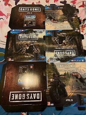 Days Gone Ps4 Playstation 4 Shop Display Cube New Rare Collectors