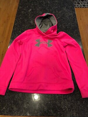 Lot Of Two (2) Girls Under Armour YXL Hoodies