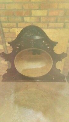 Ornate Mahogany Victorian/Edwardian Overmantle Mirror