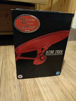 Star Trek: Stardate Collection - The Movies 1-10 (Remastered) [DV... - DVD  RIVG