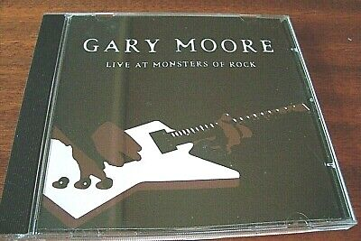 """Gary Moore CD Album """"Live At The Monsters Of Rock"""" Ex  Sanctuary from 2003"""