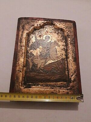 Orthodox Russian icon of St. George the victorious