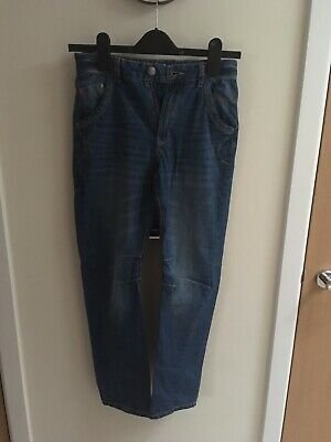 Asda George Boys Blue Denim Jeans - Aged 10-11 Excellent Condition