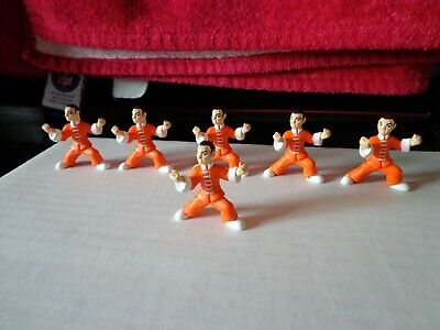 2004 Micro Icons Series 1 Kung Fu #9 Wacky Chan Magnetic Feet Action Figure