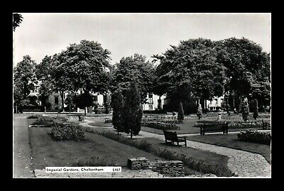 Dr Jim Stamps Imperial Gardens Cheltenham United Kingdom Real Photo Postcard