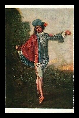 Dr Jim Stamps Indifference Painting Watteau Topical France Postcard