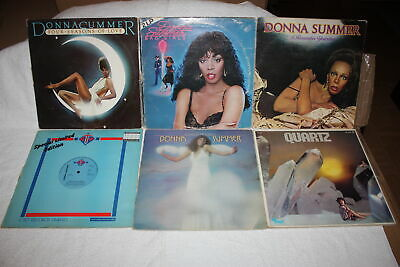 DISCO LOT 58 VINYLS donna summer hernandez juvet boney m cerrone ottawan