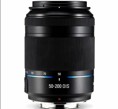 Samsung NX 50-200mm F4-5.6 ED OIS III Lens Black in original box and pouch