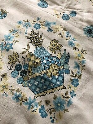 Two Vintage Tablecloths
