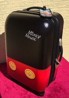 American Tourister Disney Mickey Mouse Hardside Spinner Luggage.