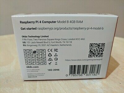 Raspberry Pi 4 Model B 4GB RAM - Made in UK
