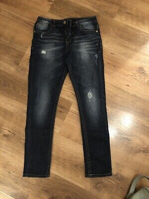 boys river island skinny jeans Age 12 Excellent Condition