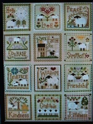 Little House Needleworks - Sheep (Collection 13 patterns)