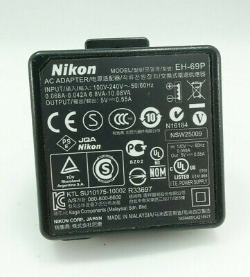 Genuine Nikon EH-69P AC Adapter Charger