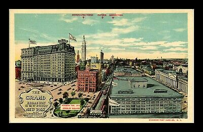Dr Jim Stamps Us The Grand New York White Border View Postcard