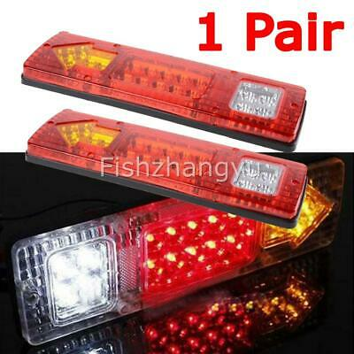 LED TRAILER TAIL LIGHTS TRUCK CARAVAN UTE BOAT LIGHT STOP INDICATOR Waterproof O