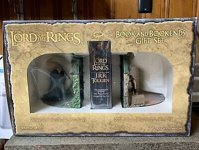 Sideshow Weta NO ADMITTANCE Bookends Lord of the Rings  Bilbo Gandalf The Hobbit