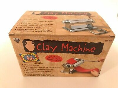 Nicole Quality Value Clay Machine For Modeling and Arts CLY050 BRAND NEW NIB
