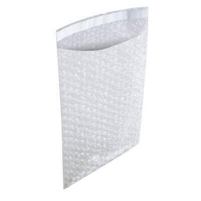 """500-4x7.5 Bubble Out Pouches Bags Wrap Cushioning Self Seal Clear 4/"""" x 7.5/"""""""
