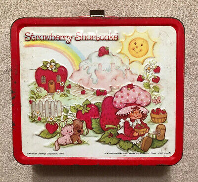 1980 Aladdin Strawberry Shortcake Vintage Lunchbox