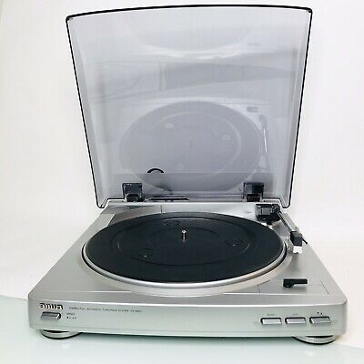 AIWA STEREO FULL Automatic Turntable LP player vinyl $6.85