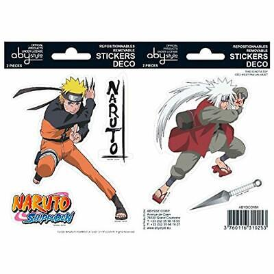 Naruto Shippuden Abystyle Deco Stickers Anime Animation 16x11cm Japanese Merch