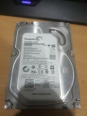 "Seagate Barracuda 2 TB Internal 7200 RPM 3.5"" Hard Drive -ST2000DM001 HDD (Hard…"