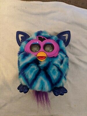 Boxed Furby Boom Blue Diamonds 2013 - tested and works. AUS