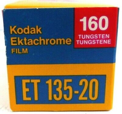 Kodak Ektachrome 160 Tungsten Film Slide 35mm Camera (Expired 5 1981)